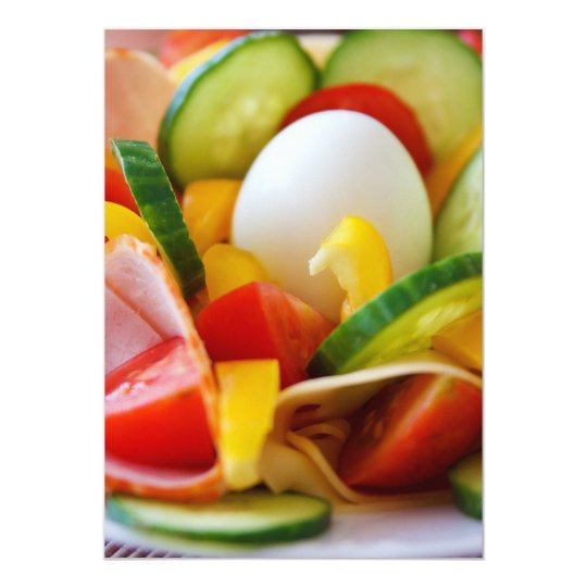 Healthy Vegan Breakfast Card