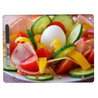 Healthy Vegan Breakfast Dry Erase White Board