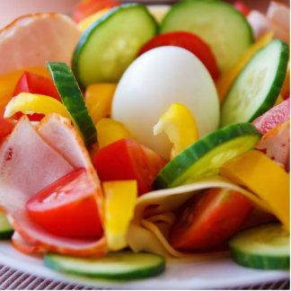 Healthy Vegan Breakfast Acrylic Cut Outs
