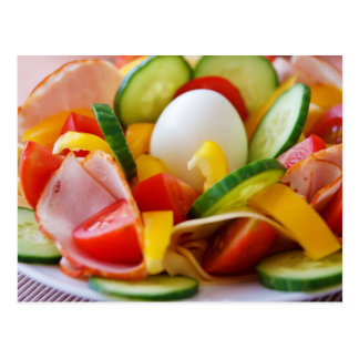 Healthy Vegan Breakfast Postcard