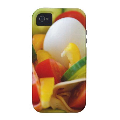 Healthy Vegan Breakfast Vibe iPhone 4 Case