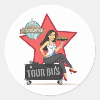 Healthy Voyager Tour Bus Sticker