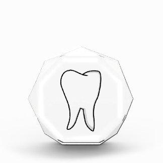 Healthy White Tooth Acrylic Award
