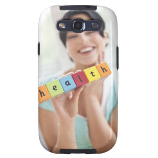 Healthy young woman, conceptual image. samsung galaxy s3 cases
