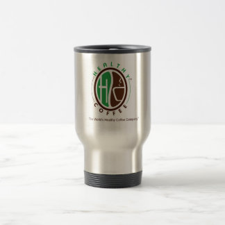 HealthyCoffee branded Travel Mug