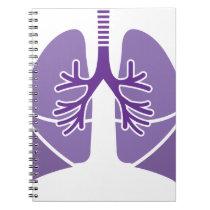 HealthyLungs.pdf Spiral Notebook