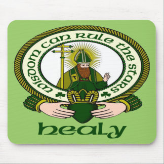 Healy Clan Motto Mouse Pad