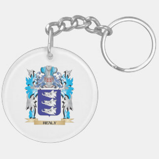 Healy Coat of Arms - Family Crest Acrylic Key Chain