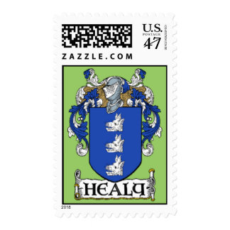 Healy Coat of Arms Postage Stamps