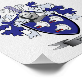 Healy Coat of Arms Poster
