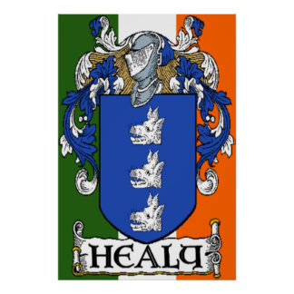 Healy Coat of Arms Print