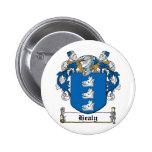 Healy Family Crest Pinback Button