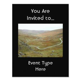 Healy Pass, Beara Peninsula, Ireland. 4.25x5.5 Paper Invitation Card