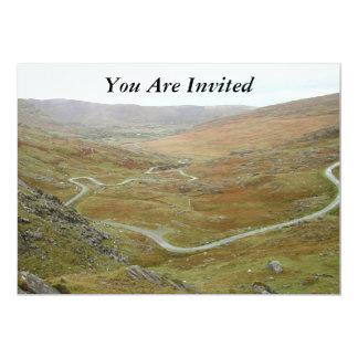 Healy Pass, Beara Peninsula, Ireland. 5x7 Paper Invitation Card