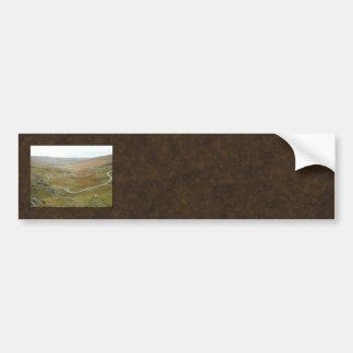 Healy Pass, Beara Peninsula, Ireland. Bumper Sticker