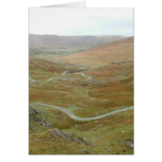 Healy Pass, Beara Peninsula, Ireland. Card