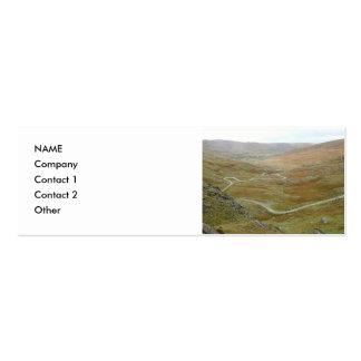 Healy Pass, Beara Peninsula, Ireland. Double-Sided Mini Business Cards (Pack Of 20)