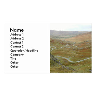 Healy Pass, Beara Peninsula, Ireland. Double-Sided Standard Business Cards (Pack Of 100)