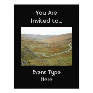 Healy Pass, Beara Peninsula, Ireland. Custom Invites