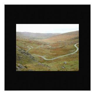 Healy Pass, Beara Peninsula, Ireland. Personalized Announcement