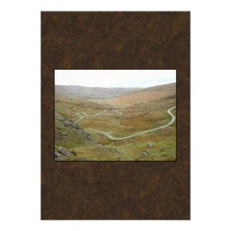 Healy Pass, Beara Peninsula, Ireland. Invitation