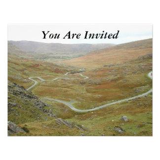 Healy Pass, Beara Peninsula, Ireland. Personalized Invite