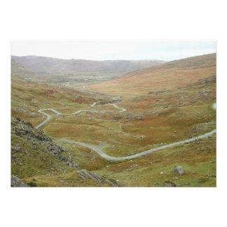 Healy Pass, Beara Peninsula, Ireland. Invites