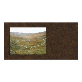 Healy Pass, Beara Peninsula, Ireland. Customized Photo Card