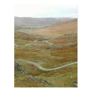Healy Pass, Beara Peninsula, Ireland. Postcard