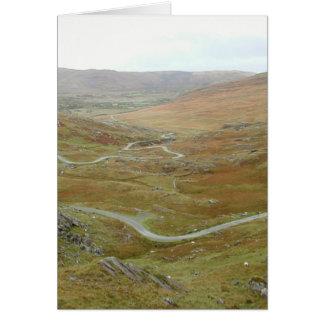 Healy Pass, Beara Peninsula, Ireland. Stationery Note Card