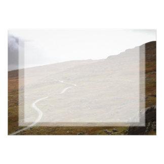 Healy Pass, Winding Road in Ireland. Invites