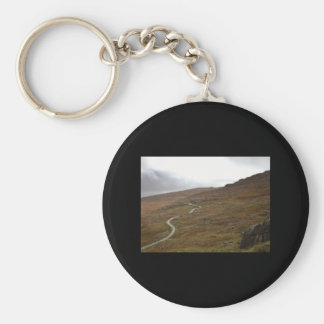 Healy Pass Winding Road in Ireland Key Chains