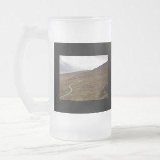 Healy Pass, Winding Road in Ireland. Mugs