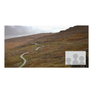 Healy Pass, Winding Road in Ireland. Customized Photo Card