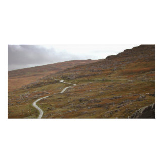 Healy Pass, Winding Road in Ireland. Photo Greeting Card