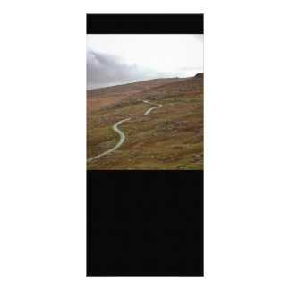 Healy Pass, Winding Road in Ireland. Rack Card