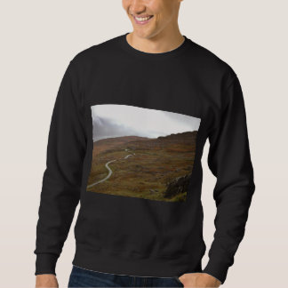 Healy Pass, Winding Road in Ireland. Sweatshirt