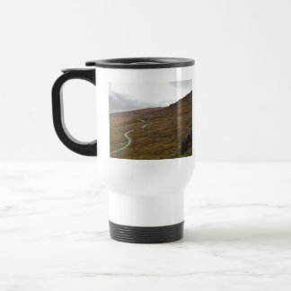 Healy Pass, Winding Road in Ireland. Travel Mug
