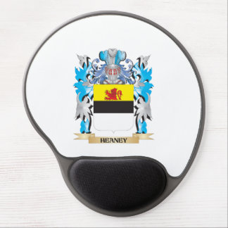 Heaney Coat of Arms - Family Crest Gel Mousepad