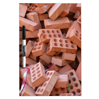 Heap bricks dry erase board