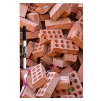 Heap bricks Dry-Erase board