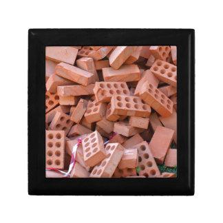 Heap bricks gift box