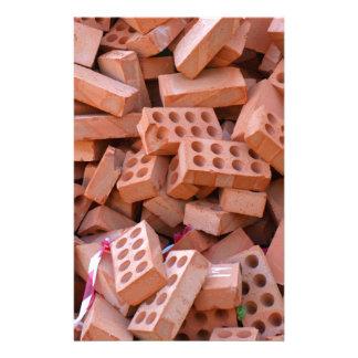 Heap bricks stationery