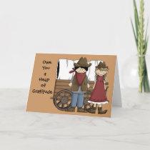 Heap of Gratitude - Western Thank You