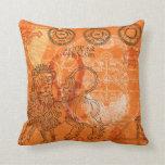 Hear Leo Roar Zodiac Pillow
