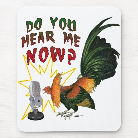Hear Me Now? Mouse Pad