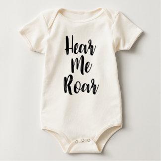 Hear Me Roar Baby Clothing Baby Bodysuit