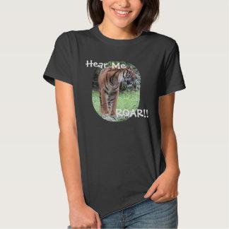 Hear Me ROAR, Bengal Tiger Shirt