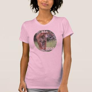 Hear Me ROAR, Bengal Tiger Shirt pink