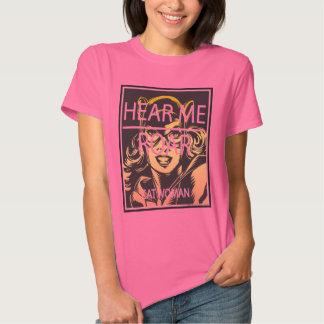 Hear Me Roar Tee Shirts